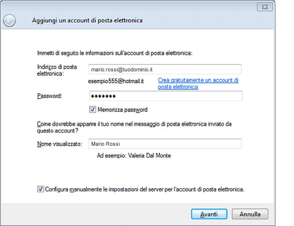 la posta di hotmail sul pc