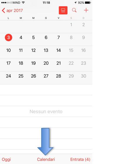Visualizza Calendario.Configura Il Calendario Caldav Su Iphone