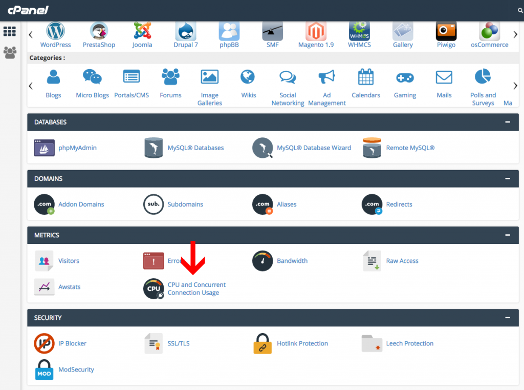cpanel-view