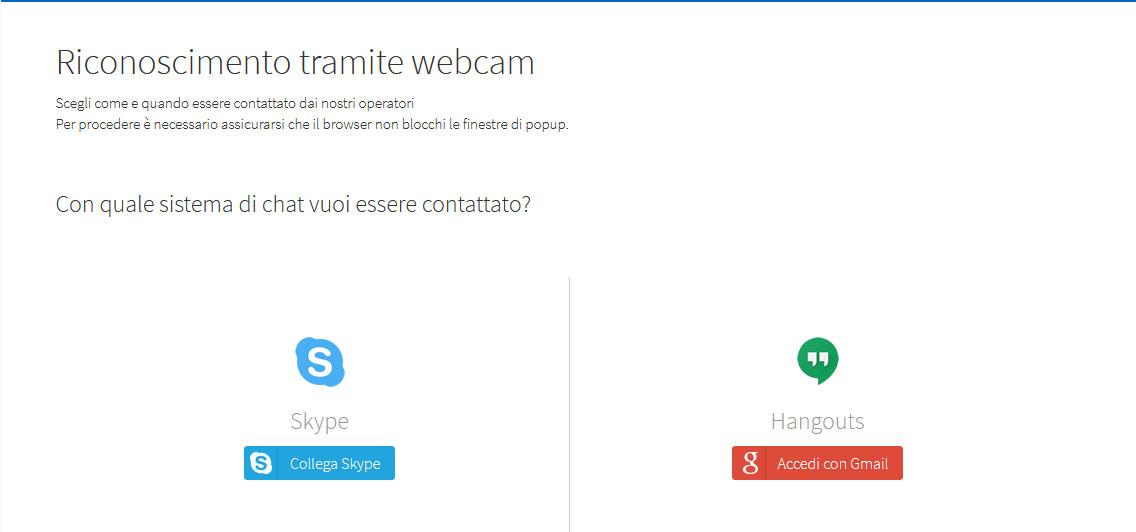 Skype e Hangouts