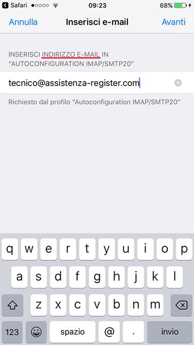 leggere email su iphone 7 Plus
